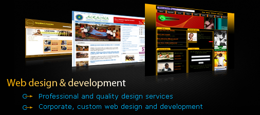 web designing development
